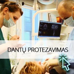 Kokybiški dantų protezai Vilniuje
